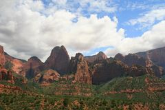 Zion Kolob Fingers Royalty Free Stock Photography