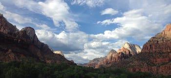 Zion Landscape Fotos de archivo
