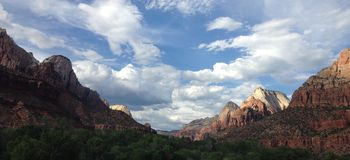Zion landscape Stock Photos