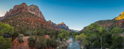 Zion Landscapes Royalty Free Stock Image