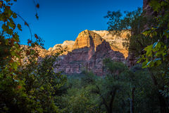 Zion Landscapes Stock Photography