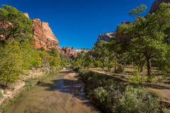Zion Landscapes Royalty Free Stock Photos
