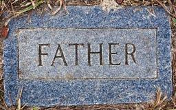 Zion Lutheran Cemetery Father Marker Royaltyfri Foto