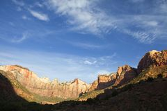 Zion Morning Royalty Free Stock Image