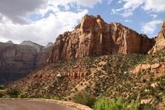 Zion-Mount Carmel Highway Stock Image