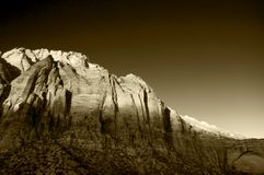 Zion Mountain Stock Image