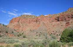Zion Mt Carmel Highway Royalty Free Stock Photo
