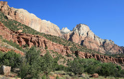 Zion Mt Carmel Highway Stock Photography