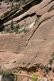 Zion, N.P. Springdale. L'Utah Fotografie Stock Libere da Diritti
