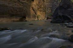 Zion Narrows photo libre de droits