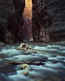 Zion narrows Stock Images