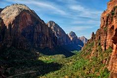 Zion nationaal park, Utah de V.S. royalty-vrije stock foto's