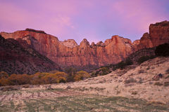 Zion National Park Royalty Free Stock Photo