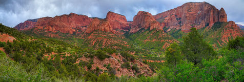 Zion National Park. Kolob Canyons - northwestern part of Zion National Park Royalty Free Stock Image