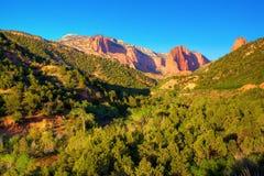 Zion National Park. Kolob Canyons - northwestern part of Zion National Park Stock Photos