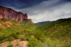Zion National Park. Kolob Canyons - northwestern part of Zion National Park Stock Photo