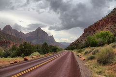 Zion National Park. Utah, USA stock photography