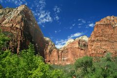 Zion National Park 3 Royalty Free Stock Image