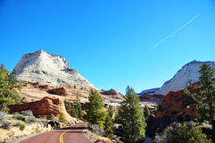 Zion National Park Royaltyfri Foto
