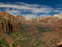 Zion National Park #2 Imagem de Stock Royalty Free