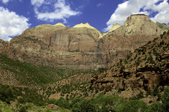 Zion National Park Stock Afbeeldingen
