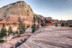 Zion National Park Image stock
