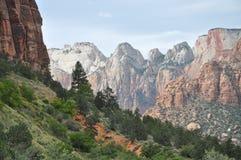 Zion National Park Imagens de Stock Royalty Free