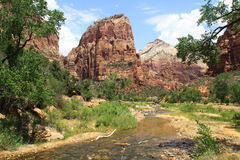Zion National Park Photographie stock