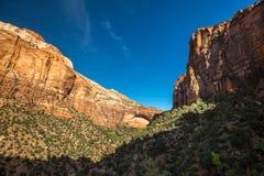 Zion National Park Photographie stock libre de droits