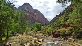 Zion National Park Fotografía de archivo