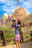 Zion National Park Stockbild