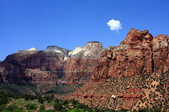 Zion National Park Stockfoto
