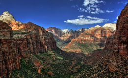 Zion National Park Fotografia Stock