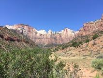 Zion National Park Fotografia Stock