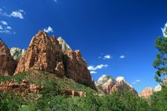 Free Zion National Park 7 Royalty Free Stock Photography - 27494527