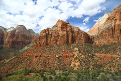 Zion National Park Imagen de archivo libre de regalías