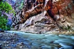 Zion National Park Fotografia Stock Libera da Diritti