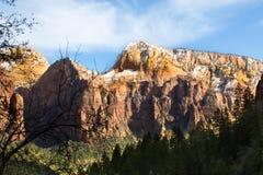 Zion National Park Fotografie Stock