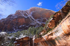 Zion National Park - Emerald Pools Trail Stock Images