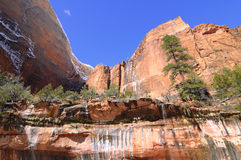 Zion National Park - Emerald Pools Trail Stock Photo