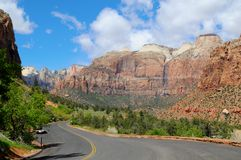 Zion National Park IV Stock Photo