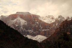 Zion National Park Landscape Royalty Free Stock Images