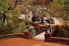 Zion National Park Landscape Stock Image