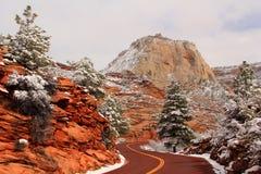 Zion National Park Landscape Stock Photography