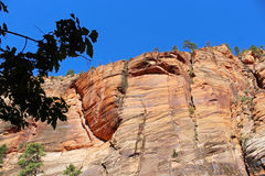 Zion National Park Landscape Stock Photo