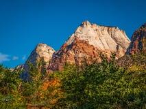 Zion National Park landskap Arkivbild