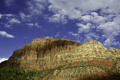 Zion National Park. Mountain view in Zion National Park, Utah, USA Stock Photos