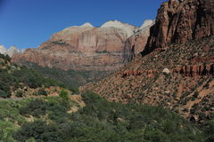 Zion National Park Mountains royalty free stock photo
