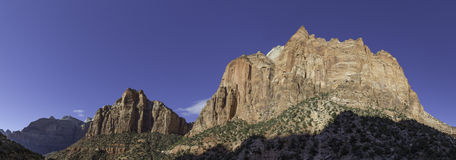 Zion National Park Mountains - Panorama Stock Foto