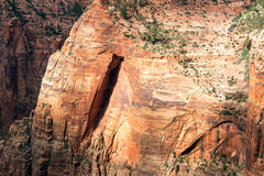 Zion National Park Rock Formation Stock Image